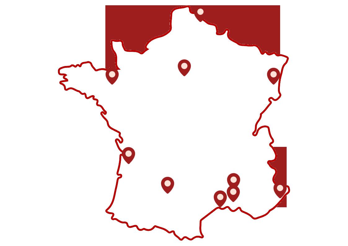 transports chila map